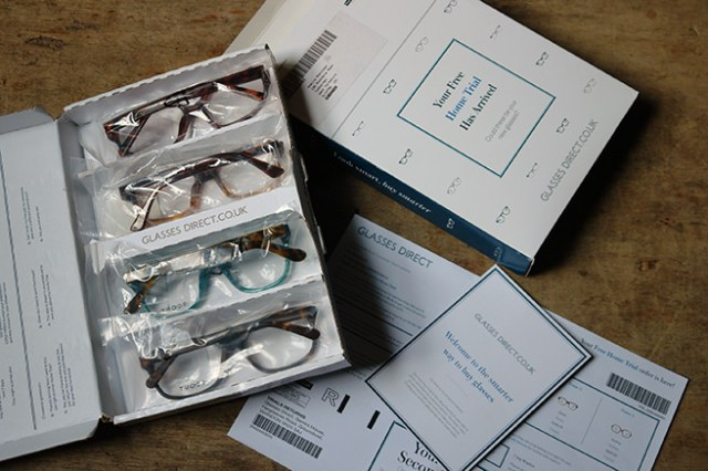 My trial of GlassesDirect glasses including Scout frames | H is for Home