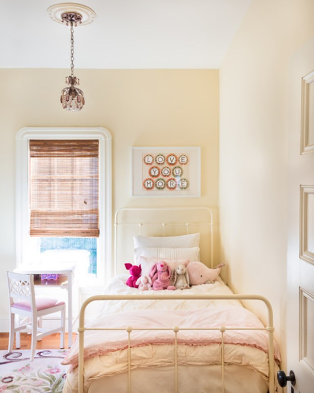 Buttermilk decorated kid's bedroom