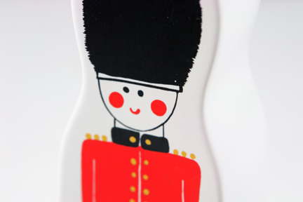 vintage Carlton Ware pottery money box in the form of a Grenadier guard | H is for Home