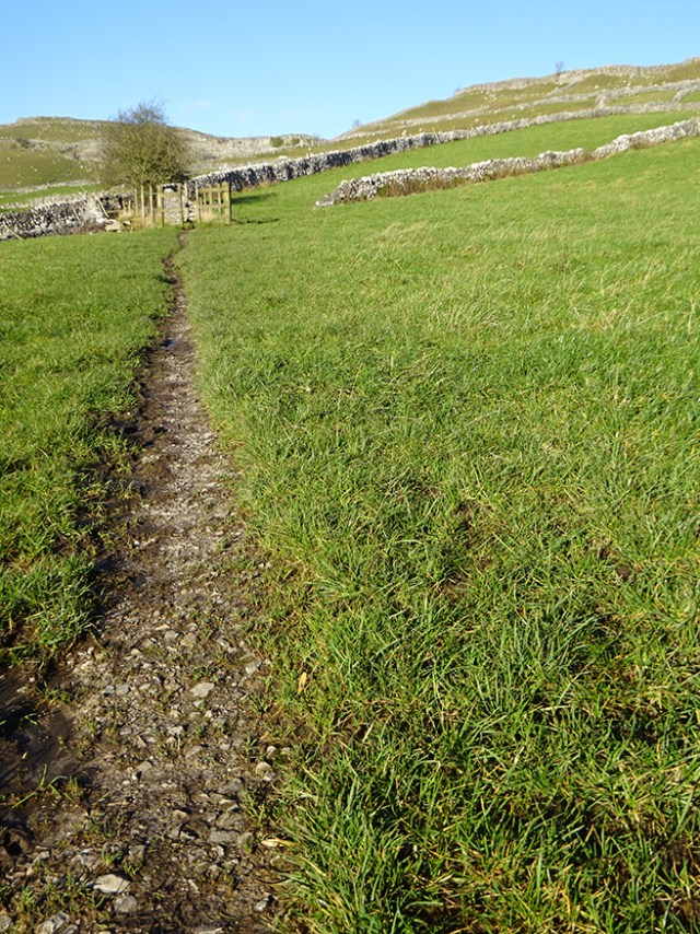 Footpath, Malham, Yorkshire Dales | H is for Home
