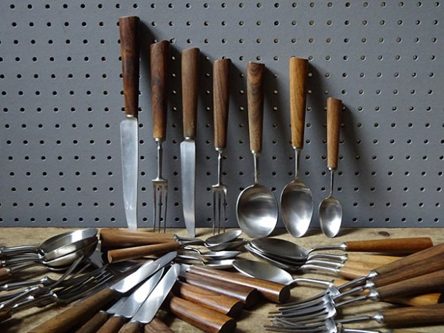 Set of vintage Mills Moore cutlery | H is for Home