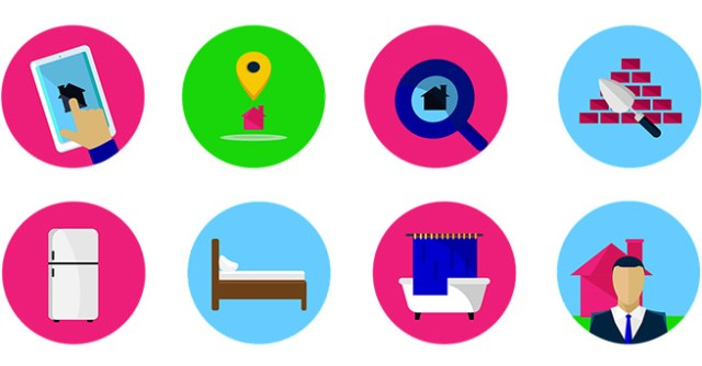 homeware & property internet icons
