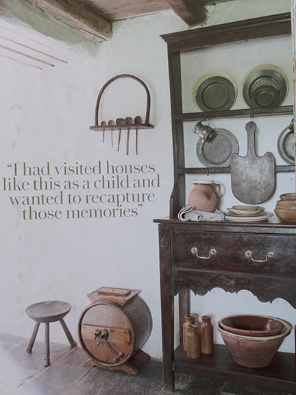 'Antique dresser in Country Living magazine June 2014
