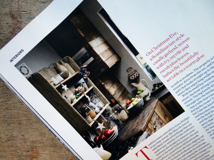 Kitchen in the 'Seasonal Simplicity' magazine article