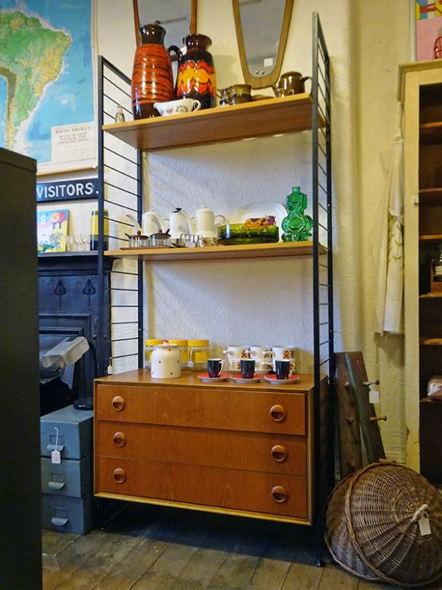 Vintage Ladderax shelving unit | H is for Home