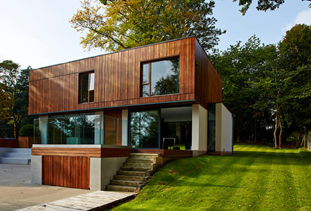 The Glen self build by Reid Architects