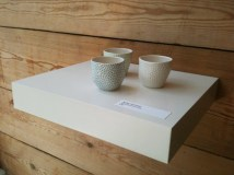 trio of small ceramic pots by Ikuko Iwamoto available at Snug Gallery in Hebden Bridge