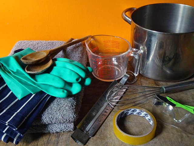 Tools needed for DIY soap making | H is for Home