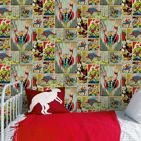 A bedroom worthy of your little superhero - H is for Home