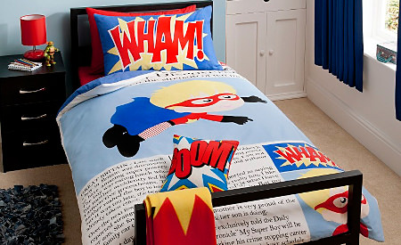 George Home Superboy duvet set