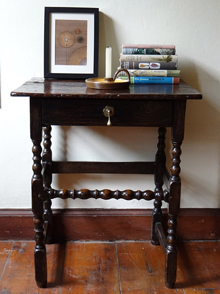 Small antique table