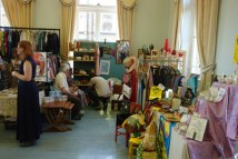 smaller room at the Vintage Home and Fashion Fair, Victoria Hall, Saltaire