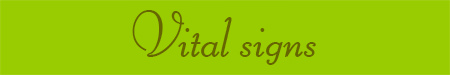 'Vital signs' blog post banner