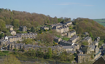 View of Hebden Bridge
