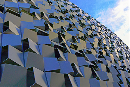 Charles Street Car Park in Sheffield also known as the Cheese Grater