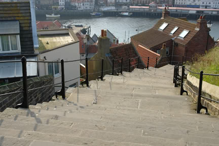 199 steps, Whitby | H is for Home