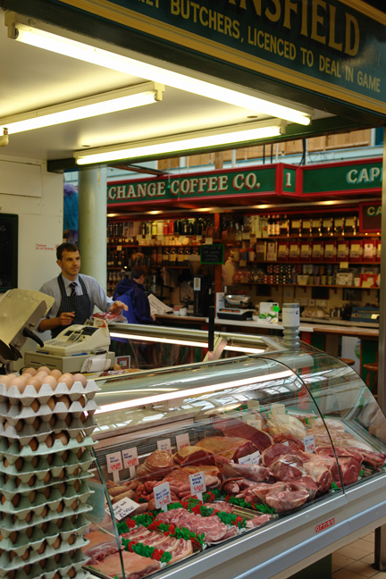 Standsfield Butchers on Todmorden Indoor Market | H is for Home