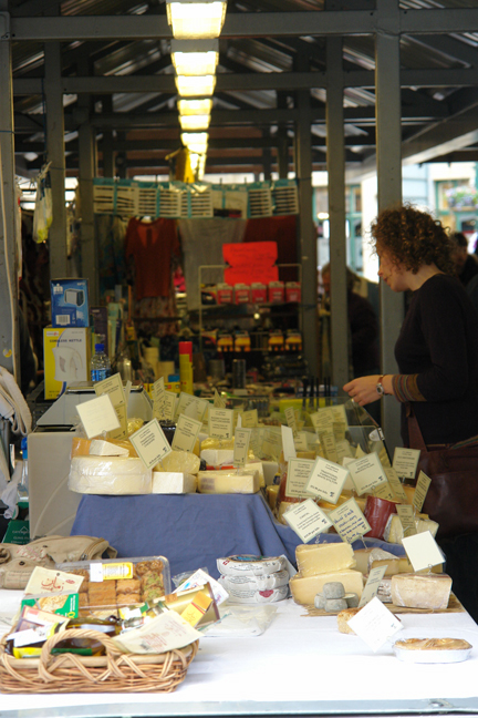 Cheese for sale on Todmorden Flea Market | H is for Home