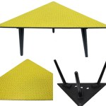 Charity Vintage: 50s triangular table