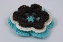 hand crocheted corsage