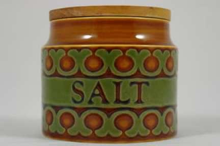 Vintage Hornsea Pottery 'Bronte' lidded salt pot | H is for Home