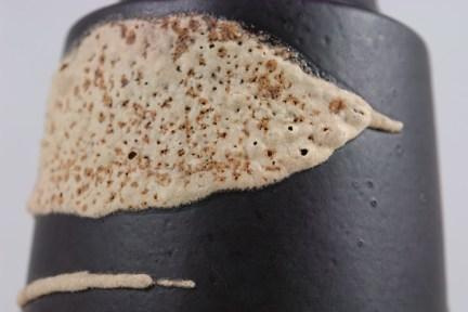Fat lava glaze detail