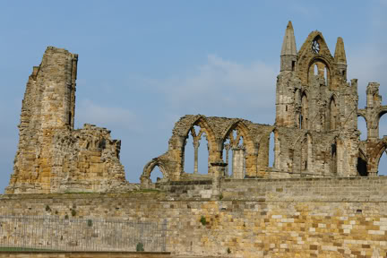 Abbey ruins, Whitby | H is for Home