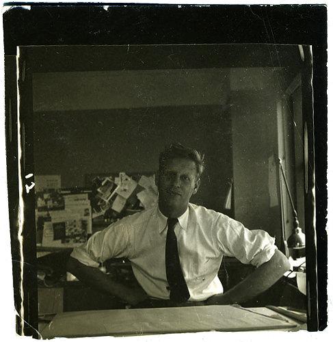Portrait of Abner Graboff