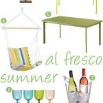 Monthly Mood Board: Al fresco summer