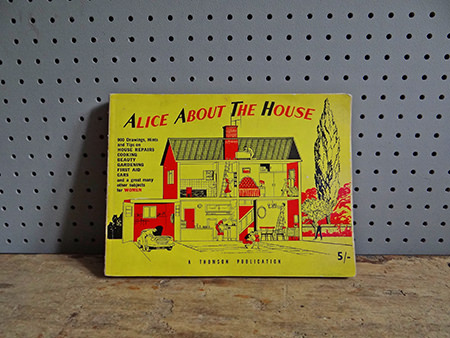Vintage Alice About The House book cover