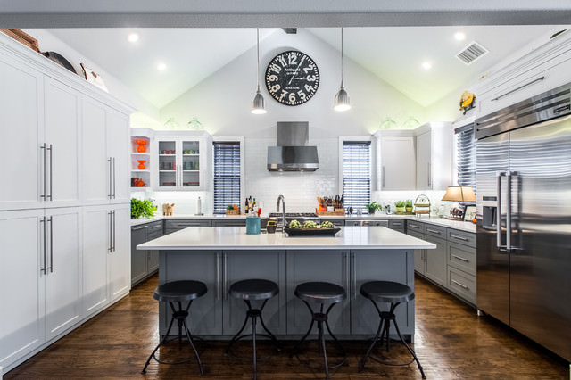 American-style kitchen diner