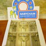 Charity Vintage: Babycham glasses