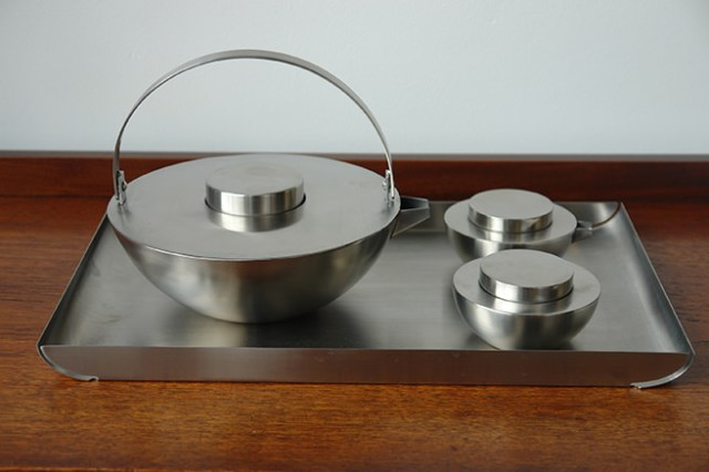 Limited edition stainless steel 'Asia' Blomus tea set | H is for Home
