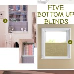 Gimme Five! Bottom up blinds