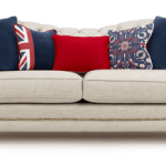 Britannia, The Great British Sofa designed in support of Team GB