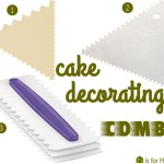 Price Points: Cake decorating combs