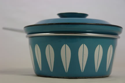 Blue Cathrineholm saucepan