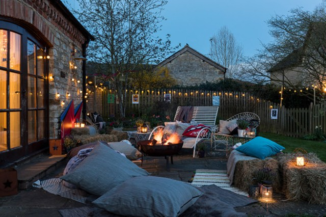 Jo Whiley's chilled garden