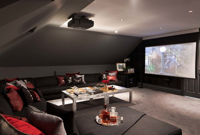 Chilled home cinema