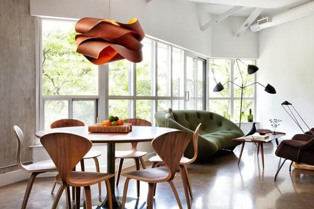 Classic design lounge diner