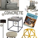 Monthly Mood Board: Concrete