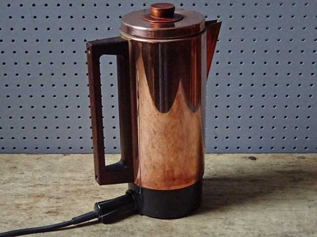 Vintage Swan 'Canterbury' electric coffee percolator | H is for Home