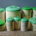 Kitchen storage tins