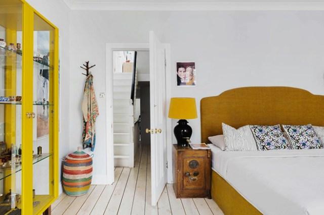Eclectic bedroom