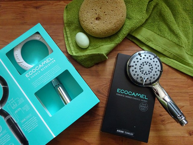 Ecocamel Jetstorm Plus and Orbit shower heads | H is for Home