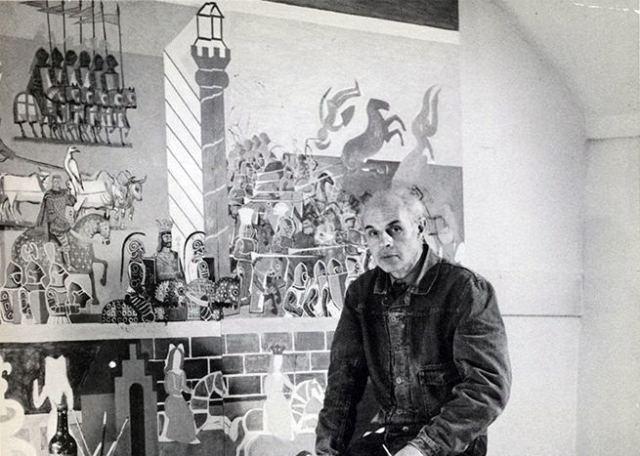 Portrait of Edward Bawden