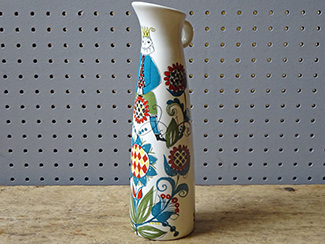 Vintage Figgjo Flint 'Saga' vase | H is for Home