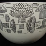 Charity Vintage: Kaj Franck for Finel mushroom design bowl