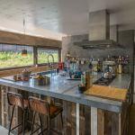 Get their look: Floating industrial kitchen