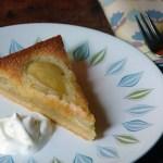 Cakes & Bakes : French pear tart